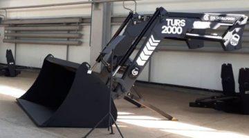 Фронтальный быстросъемный погрузчик ТУРС 2000