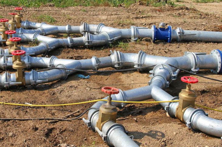 Трубопровод быстроразборный стальной оцинкованный